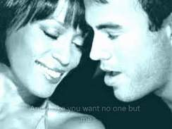 Enrique Iglesias ft. Whitney Huston - Could I Have This Kiss Forever